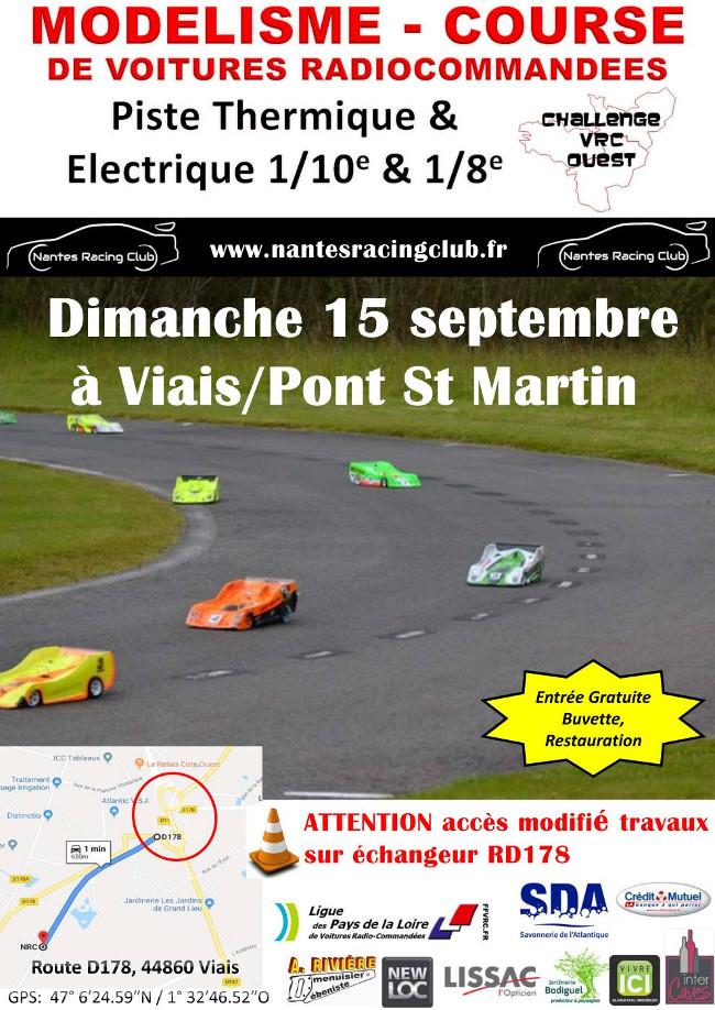 Affiche Challenge VRC Ouest NRC