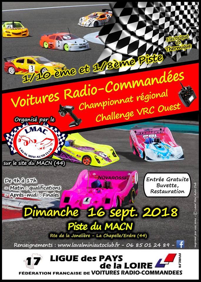 Championnat de Ligue -  Challenge VRC Ouest 2018