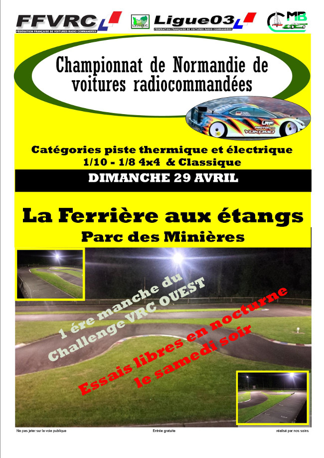 Challenge VRC Ouest 2018 - Manche 1